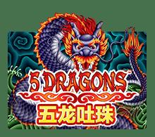 joker เกมส์ Five Dragons